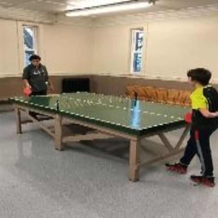 Ping Pong at the Youth Center