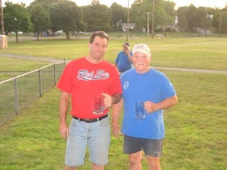 2007 Singles Runner Up Steve Towner and 2007 Singles Champion Ed Beaulier