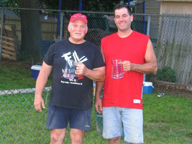 2006 Singles Runner Up Ed Beaulier and 2006 Singles Champion Steve Towner