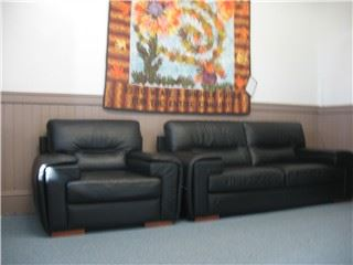 Couches in the Lounge area