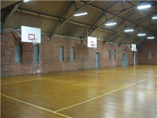 Gymnasium at the Bartek Recreation Center